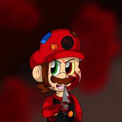 Murderer Marios fun time by PaperMurdererMario