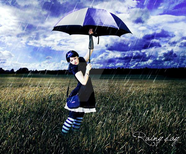 Rainy Day by Ellie--Jelly