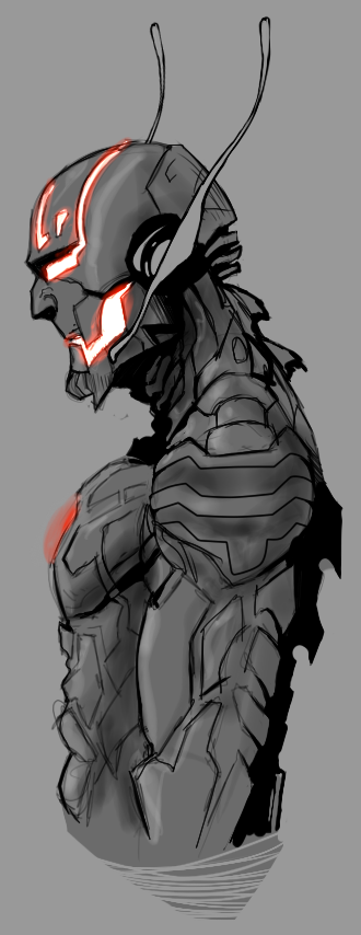 Ultron Sketch by tbowe321