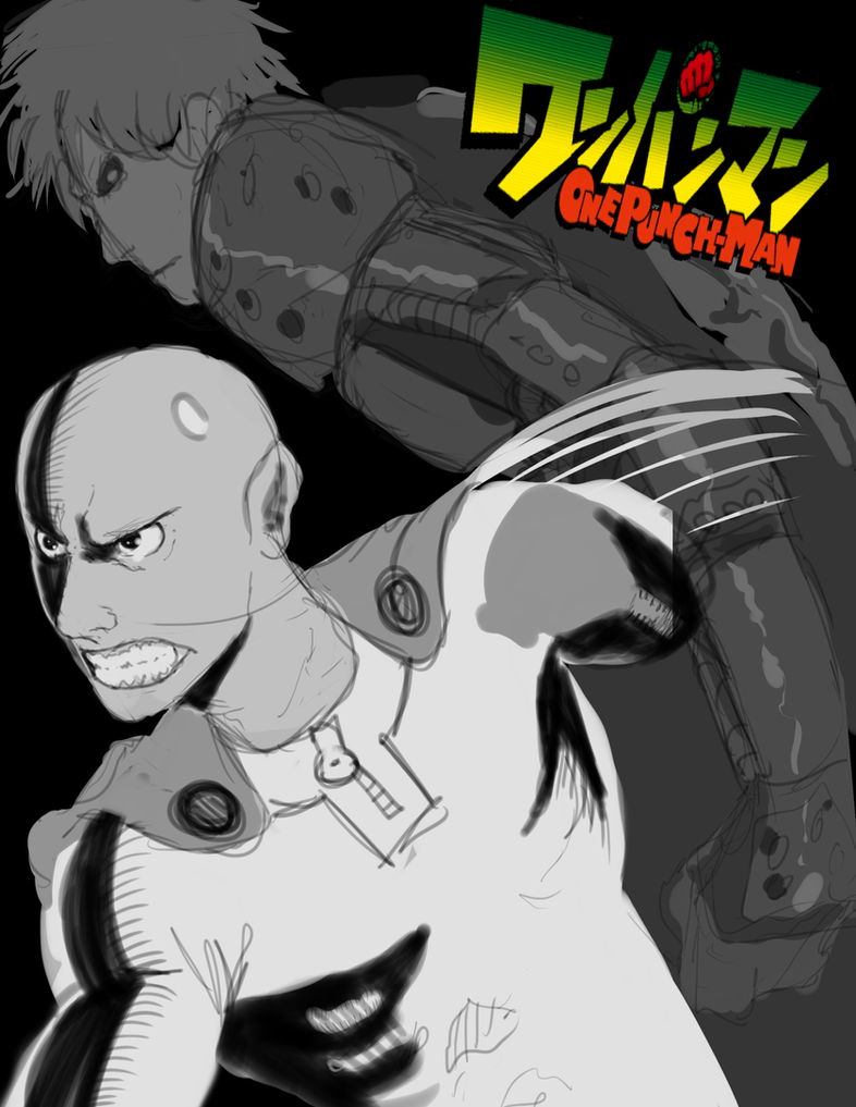 One Punch Man Sketch by tbowe321