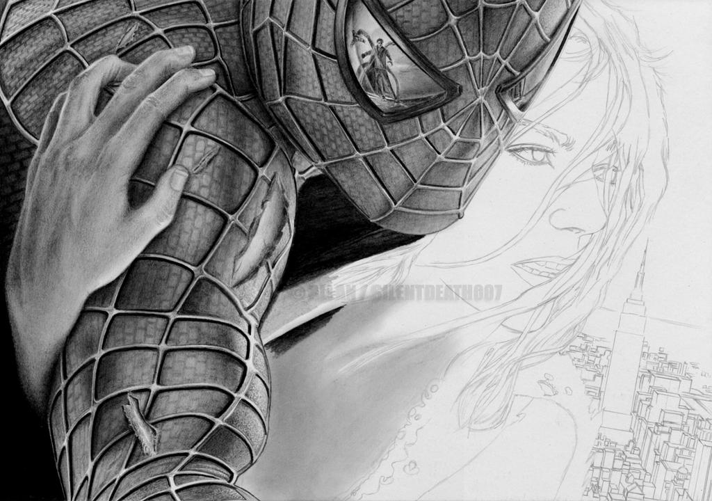 :SPIDERMAN WIP III: by Angelstorm-82
