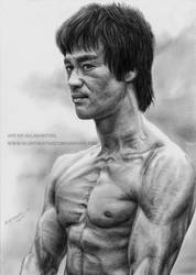 Bruce Lee by Angelstorm-82