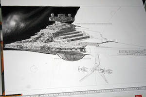 Star Destroyer WIP V by Angelstorm-82