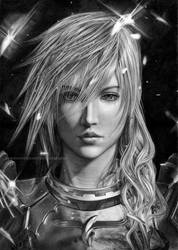 Lightning Farron FF XIII by Angelstorm-82