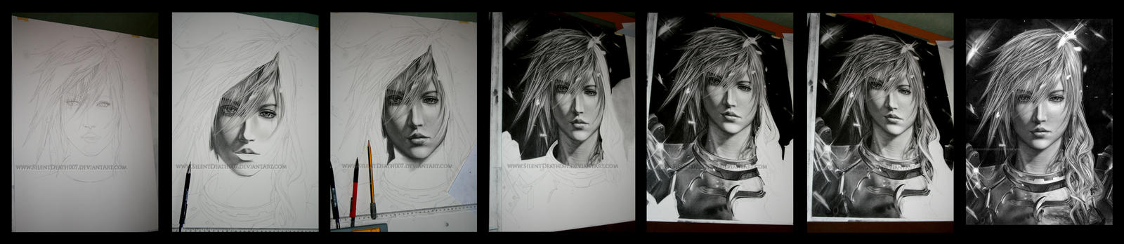 Lightning progress by Angelstorm-82