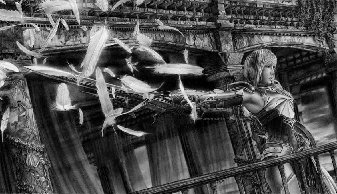 FF XIII - 2 Last one standing by Angelstorm-82