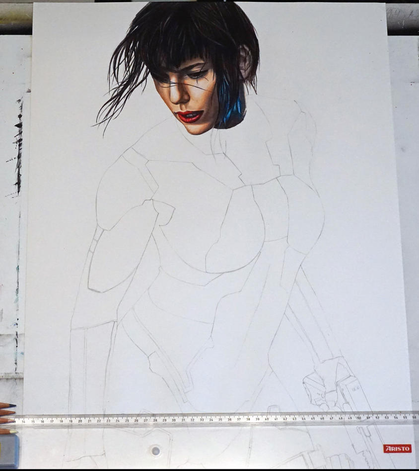 Motoko WIP by Angelstorm-82