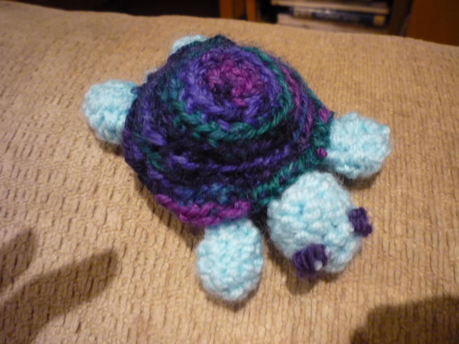 Crochet Turtle by PhilippaAnne