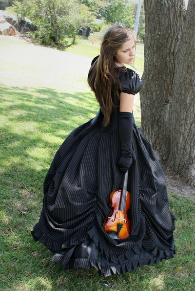 gothic balldress 6 by DebauchedSeductress