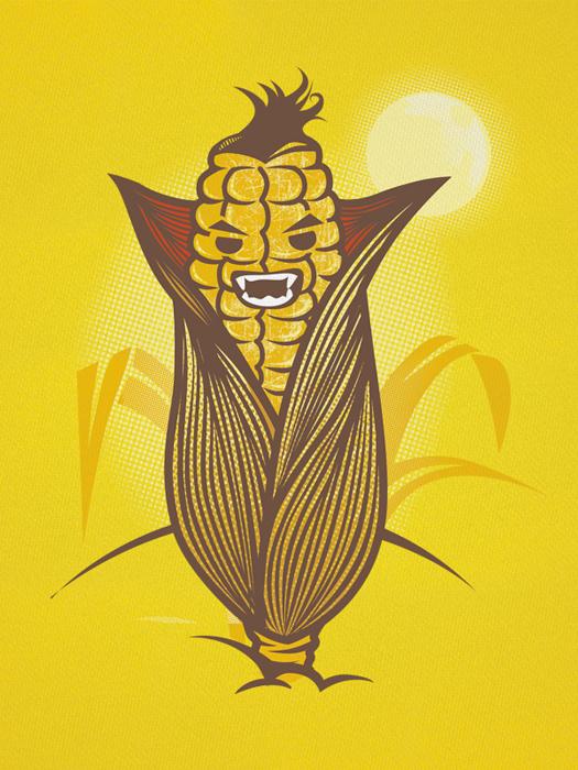 Corn Dracula by melongray