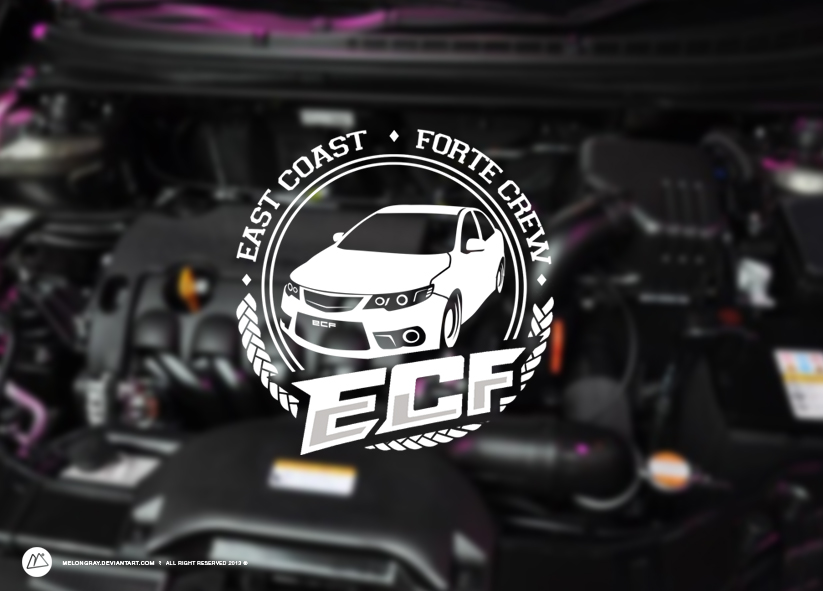 East Coast Forte Crew Logo by melongray