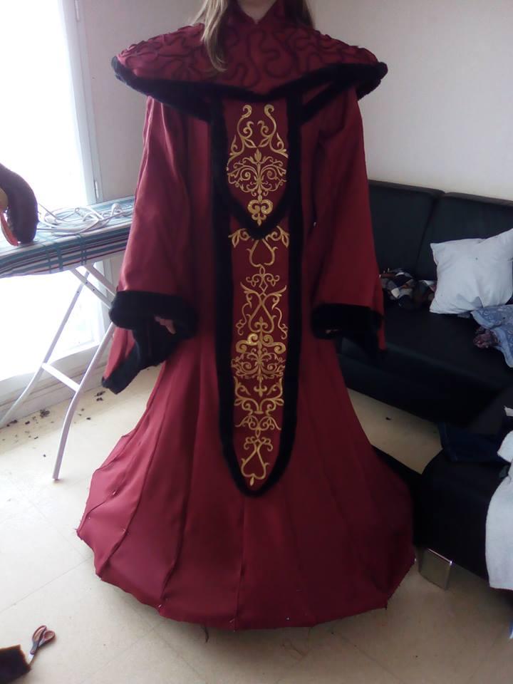 Queen Amidala - WIP by lucioleeteinte
