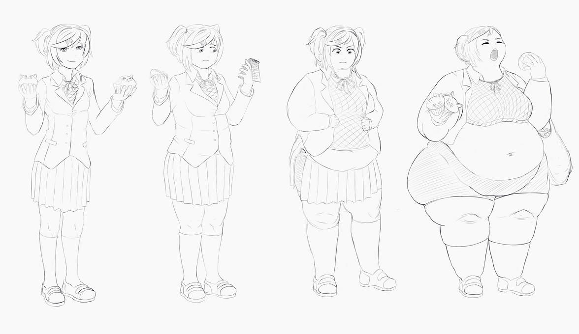 Cupcake Calories (Commission) by Disconcere on DeviantArt