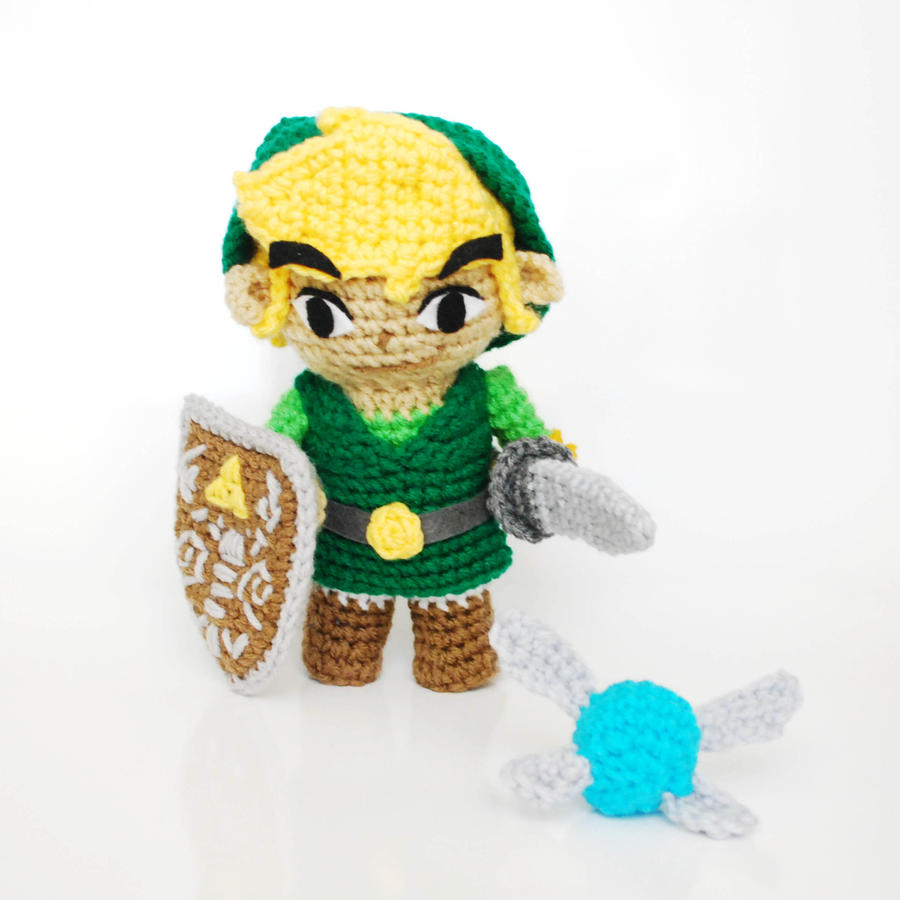 Amigurumi Zelda Patron : Link, from Zelda. Crochet Amigurumi Plush Doll by ...