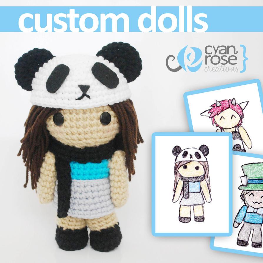 Amigurumi Reddit : Custom Amigurumi Crocheted Dolls. Your own design! by ...