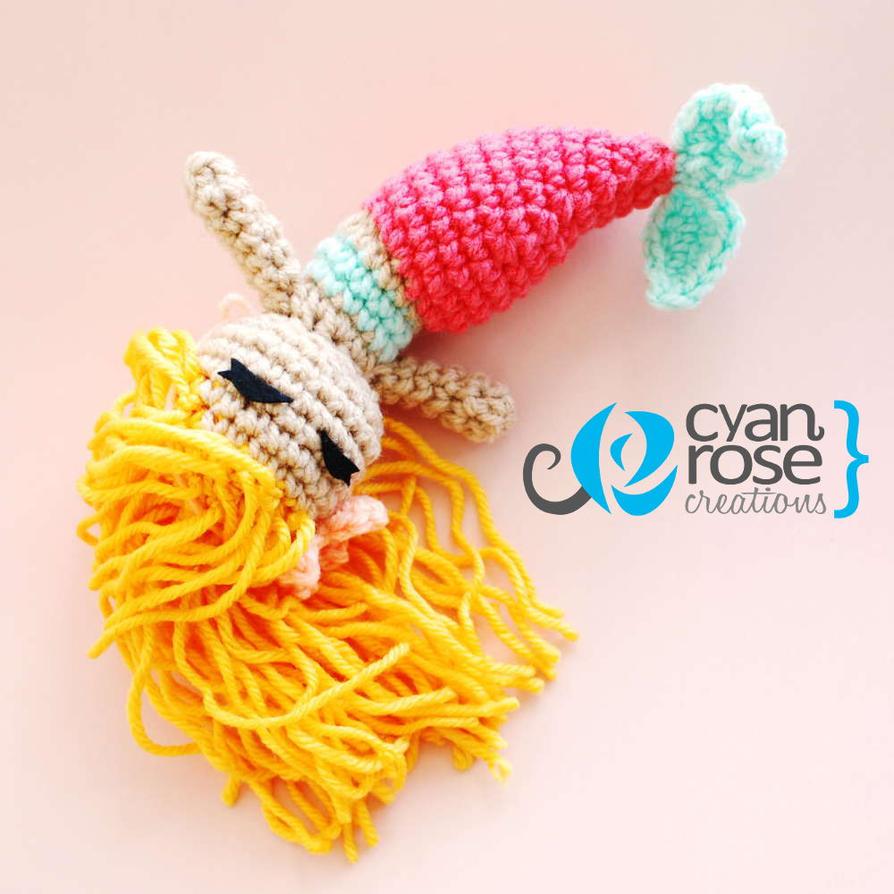 Amigurumi Crochet Mermaid : Beautiful Mermaid - Crochet Amigurumi Doll by CRC by ...