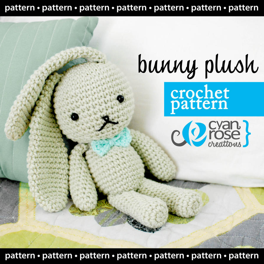 Bunny Plush - Crochet Pattern - Instant Download by ...