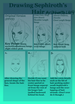 Drawing Sephiroth's Hair (updated version)
