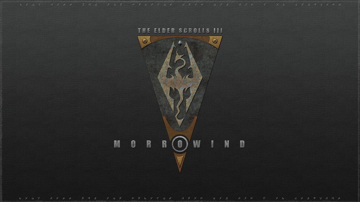 Morrowind Logo wallpaper by B0b0linho