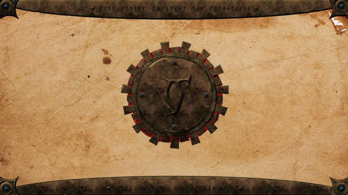 Morrowind Daedric Wallpaper by B0b0linho