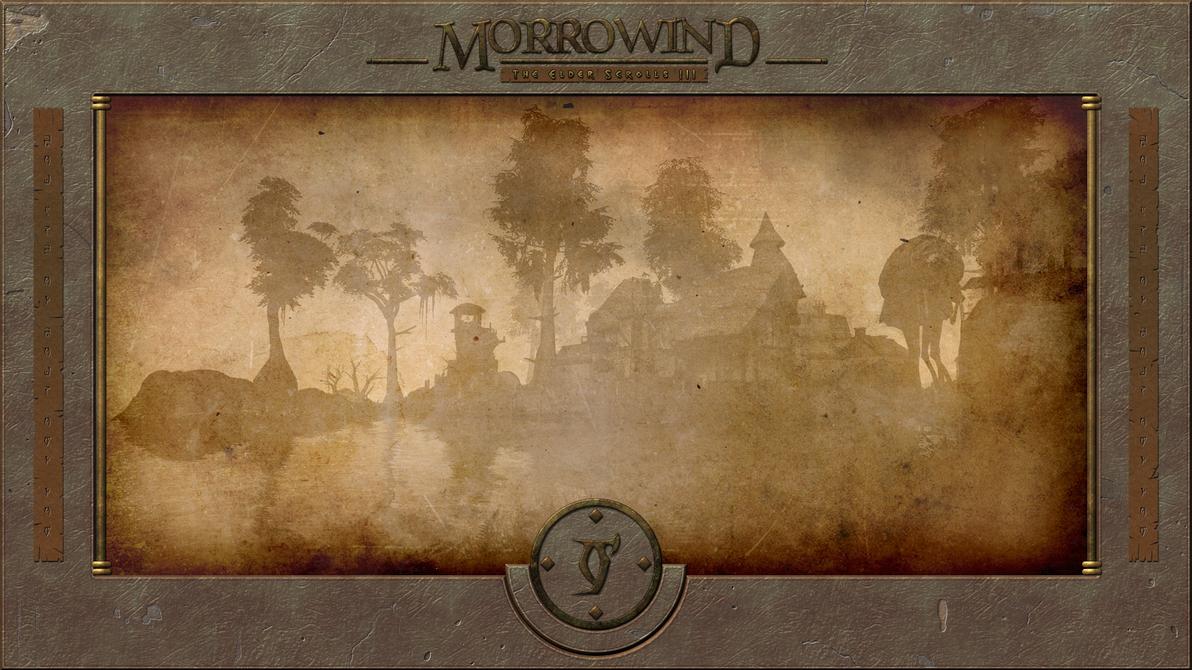 Morrowind Seyda Neen Wallpaper by B0b0linho