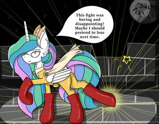 Why Celestia never helps? by CuddleLamb