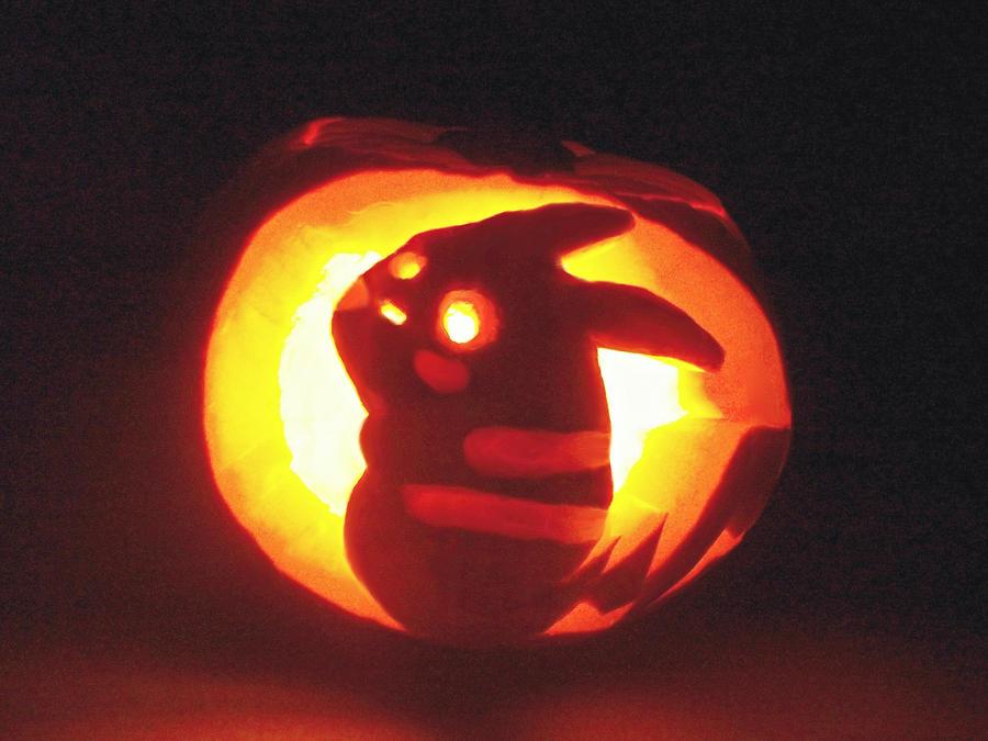 Pikachu Pumpkin by Kaikoura