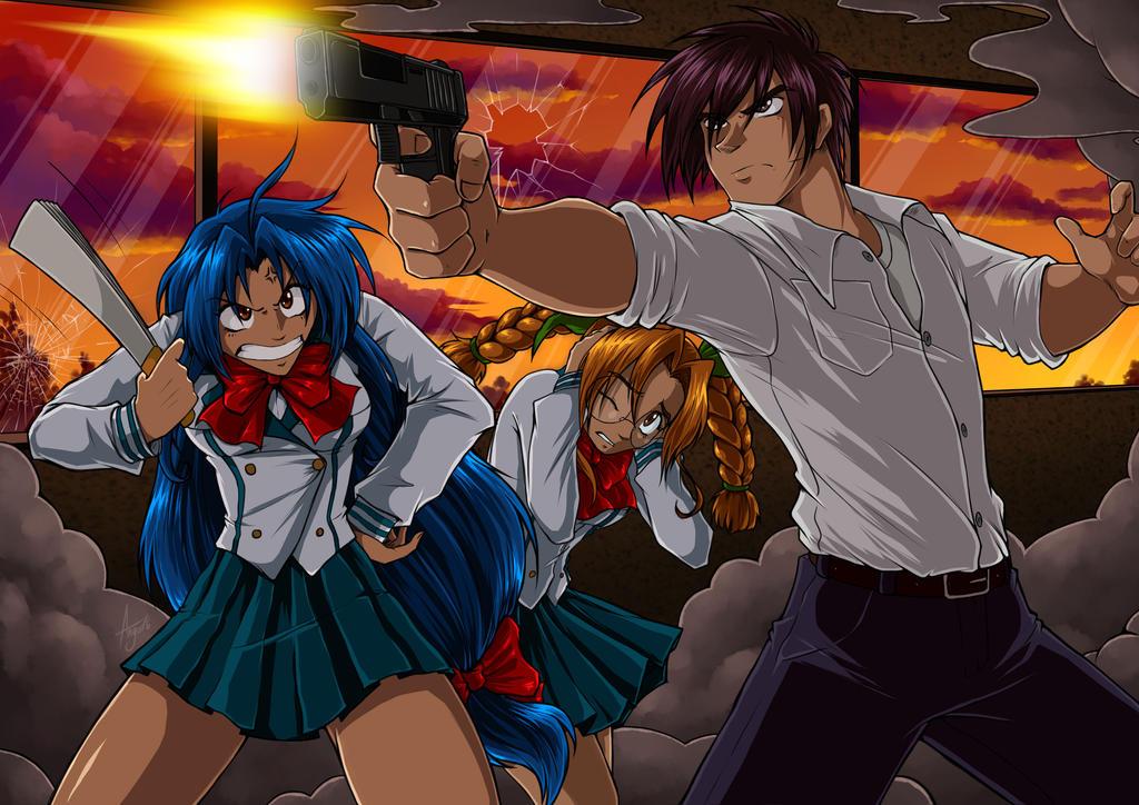 Kết quả hình ảnh cho Full Metal Panic anime