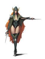 Forest Avenger by dimelife
