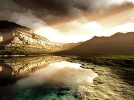 Mountain Serenity by Armarant