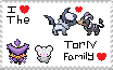 I Love The Torn Family stamp by BatPhoenix