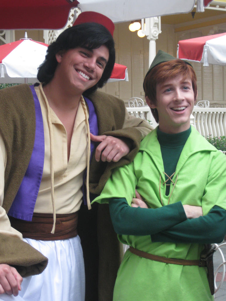 Aladdin and peter by disneylizzi on deviantart aladdin and peter by disneylizzi kristyandbryce Image collections