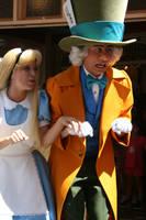 'Riding' Haunted Mansion by DisneyLizzi