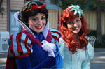 Snow White and Ariel