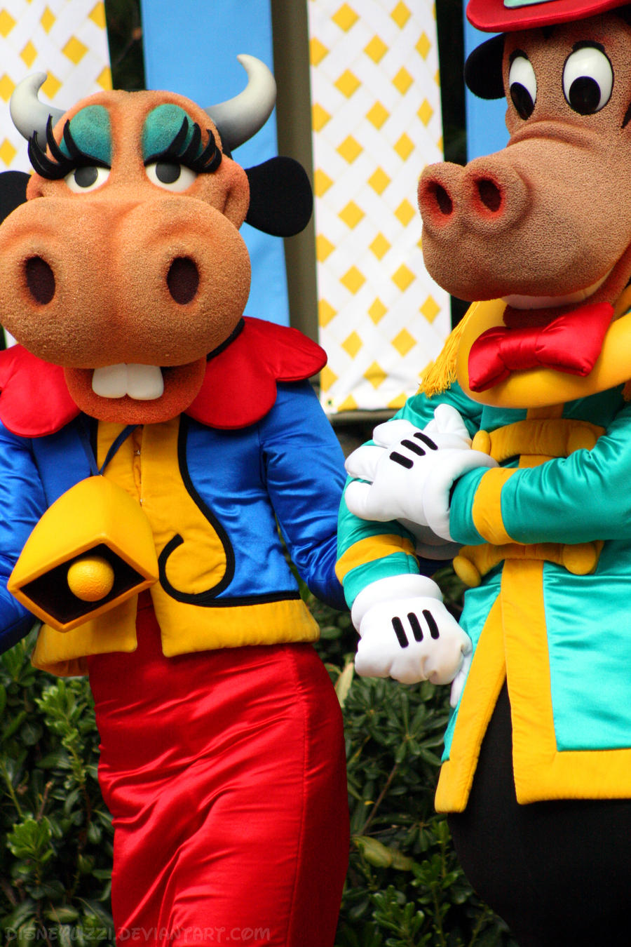 I Love Characters   Clarabelle Cow  Horace Horsecollar And Clarabelle Cow