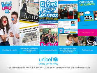 UNICEF Peru - Powerpoint Cover