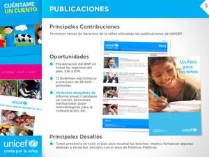 UNICEF Peru - Powerpoint Interior