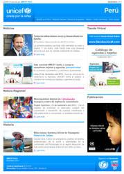 UNICEF Peru - Boletin