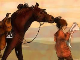 Horse Bun