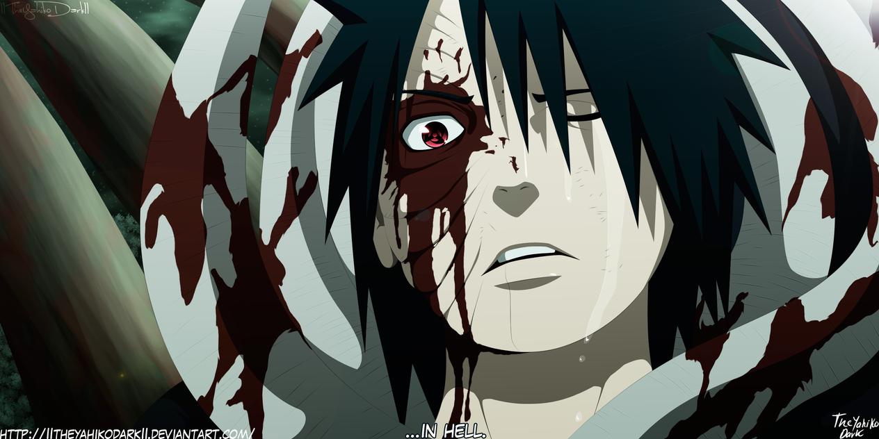 Naruto 605 In Hell by IITheYahikoDarkII