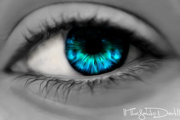 Eye Practice by IITheYahikoDarkII