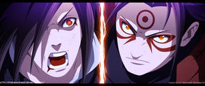Naruto 621 Madara vs Hashirama