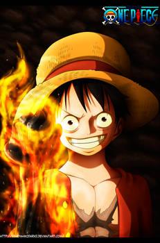 One Piece 699 Red Hawk by IITheYahikoDarkII
