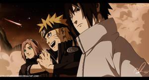 Naruto 631 At The End Gathered