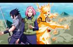 Naruto 632 Team 7 Is Ready