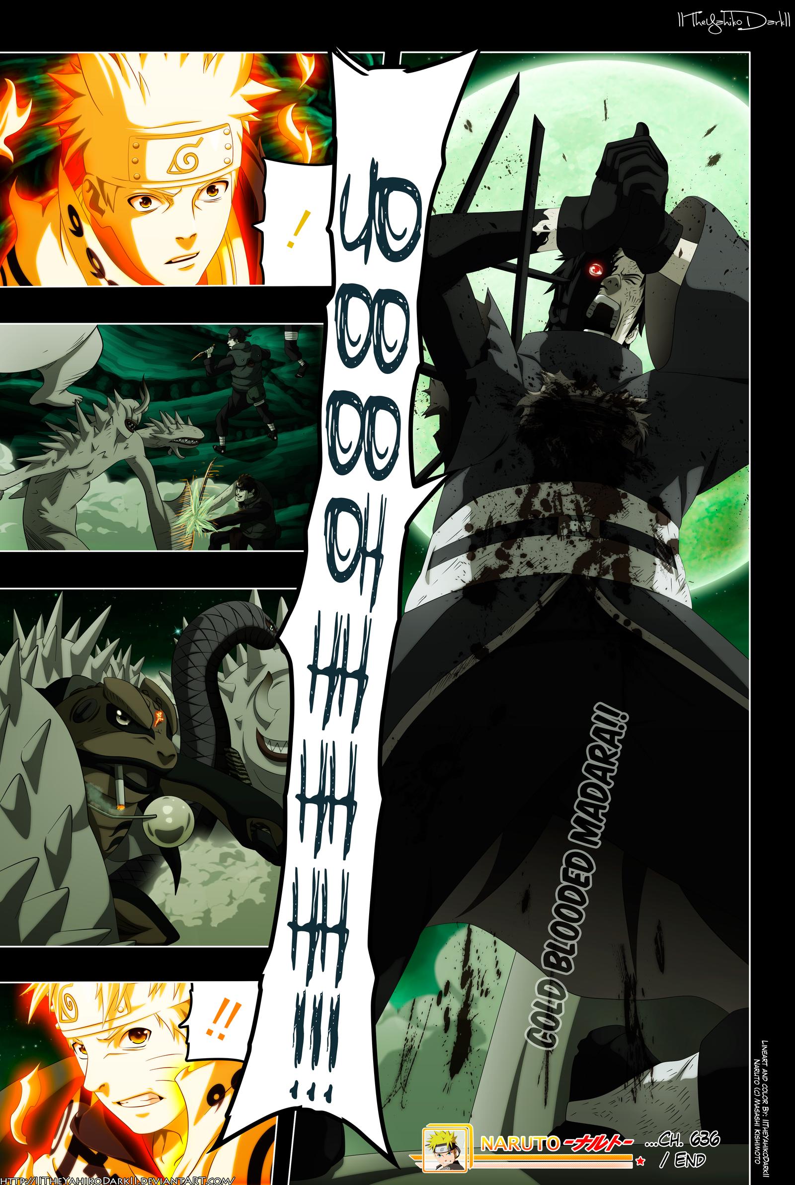 Naruto 636 My Life Your Death by IITheYahikoDarkII