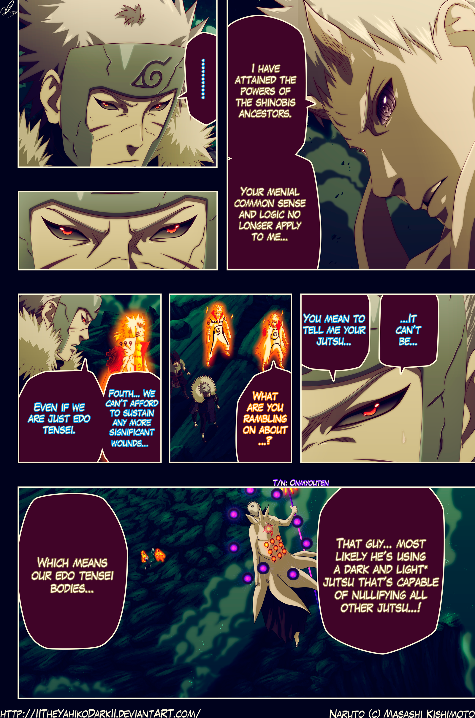 Naruto 642 God Of New World by IITheYahikoDarkII