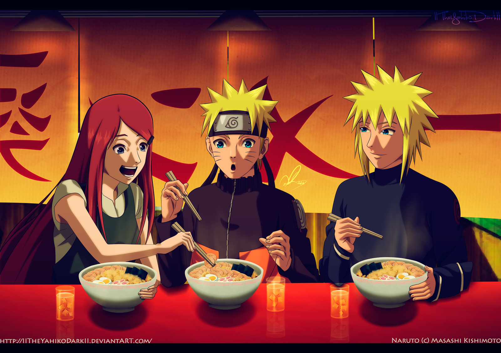 Happy Birthday Uzumaki Naruto 10-10-2013 by IITheYahikoDarkII