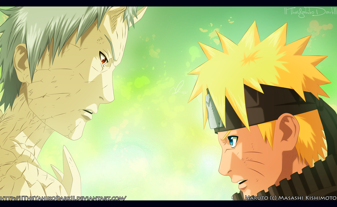 Naruto 653 It Is Not Easy Hokage by IITheYahikoDarkII