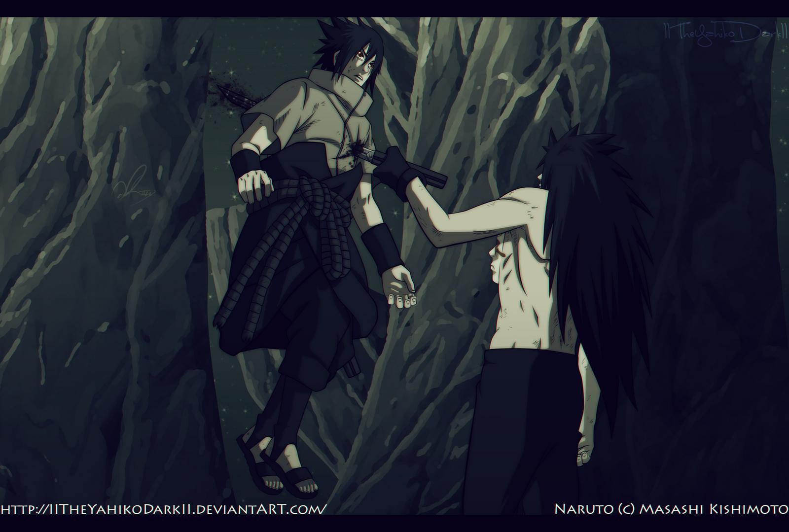 Naruto 661 You Will Die In The Dark by IITheYahikoDarkII